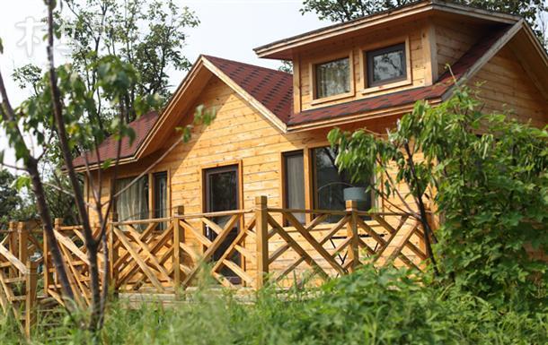 崂山柿子林迷人的loft木屋