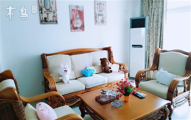 三亚湾椰梦长廊海景精致大两居室