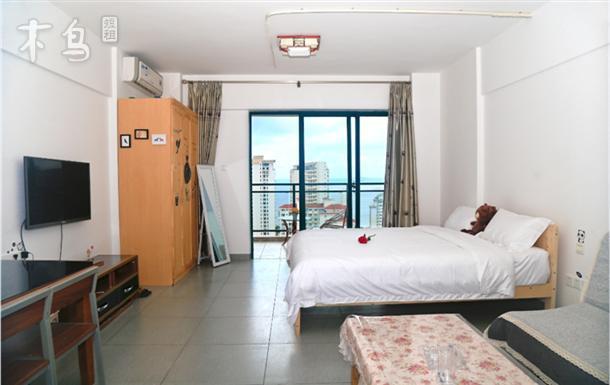 【海-舍】三亚湾椰梦长廊大落地窗高层海景房