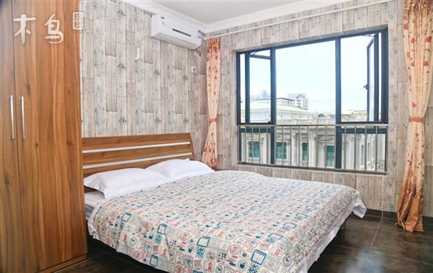 三亚空气海景公寓家庭俩房一厅