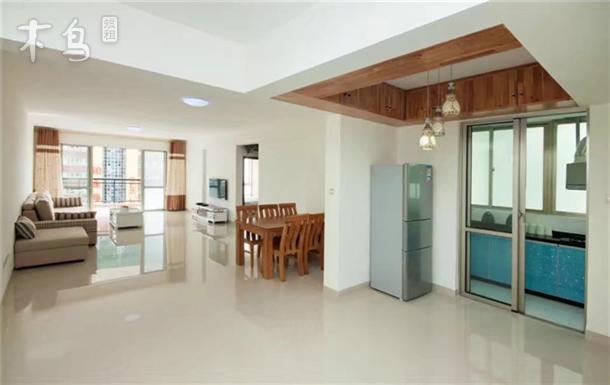 豪华海景可做饭三室一厅套房