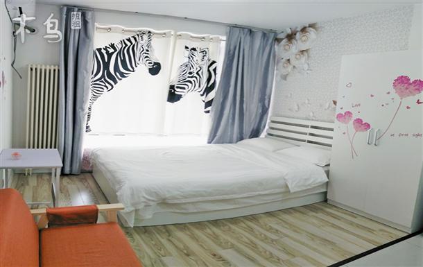 斑马与花儿 传媒大学 超级蜂巢一居室