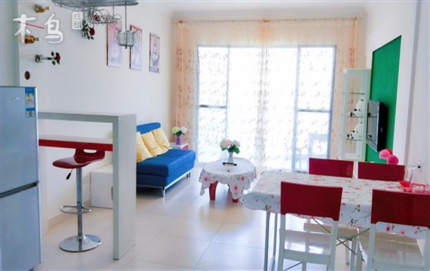 三亚湾温馨舒适  可做饭的超赞海景二居室