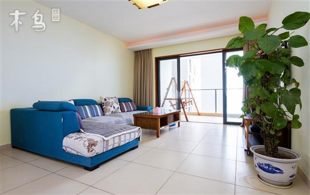 三亚湾椰梦长廊蓝色海岸兰海三期小区一线豪华海景两房一厅