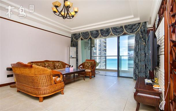 三亚湾椰梦长廊蓝色海岸兰海三期豪华海景四房一厅套房