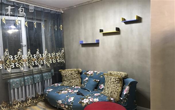 哈尔滨向日葵 日租公寓哈西民主家园精装修一室一厅