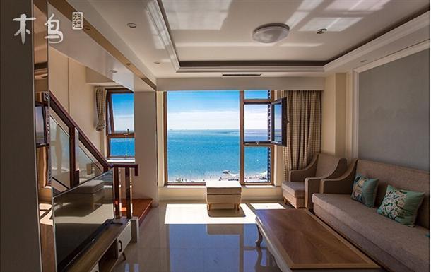 西浴场豪华一居室海景公寓