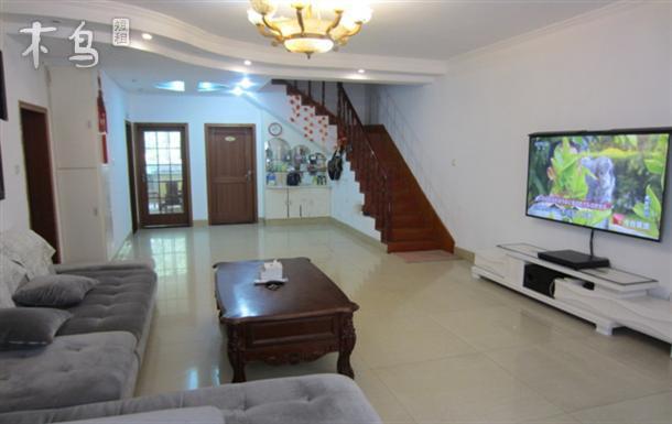 宽窄巷 锦里 杜甫草堂~市中心170平米精装跃层4室2卫大床房