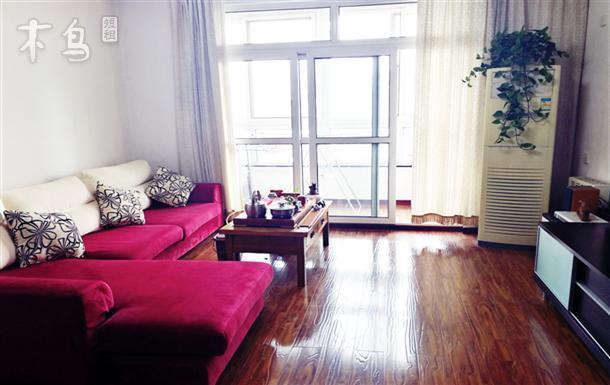 传媒大学北京二外阳光大床房