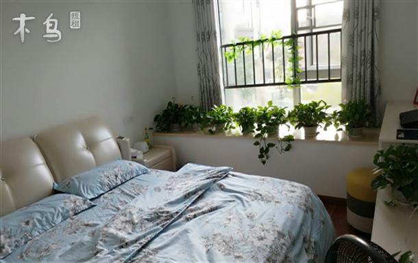 未来科技城西溪湿地中泰德信早安公寓飘窗大床房
