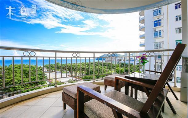 私人管家·海边150米无敌海景4房3厅宽敞阳光居家套房
