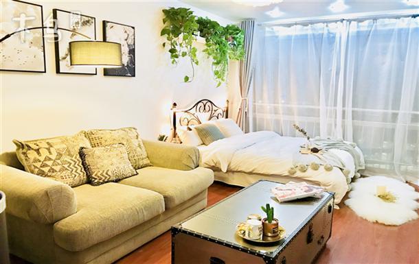 【奇幻暖屋】798机场 望京SOHO 悠乐汇北欧风 温馨时尚1居室 可长租
