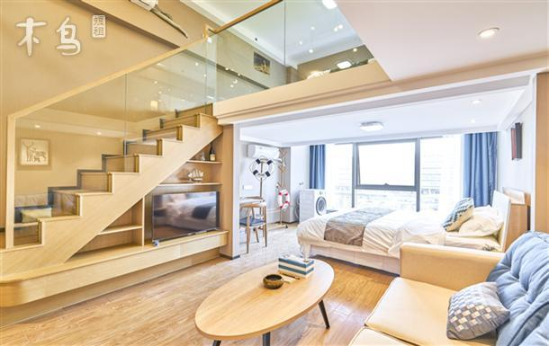 忆家公寓阿里巴巴海创园温馨loft三床房