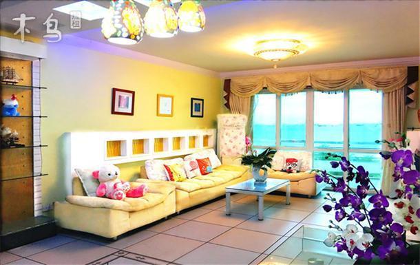 三亚湾旁2房2卫2厅一线海景套房