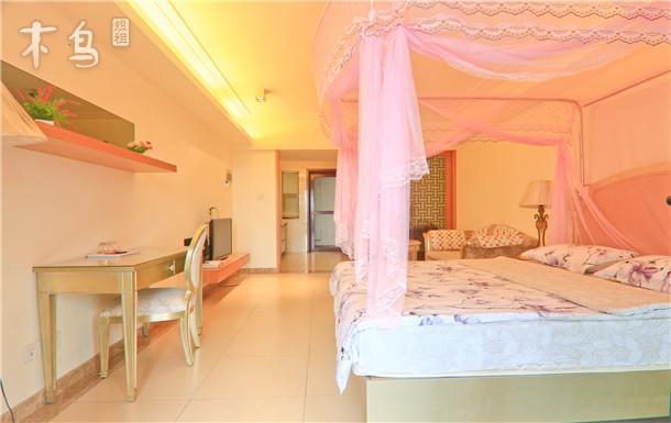 三亚湾椰梦长廊海景公寓温馨开间大床房