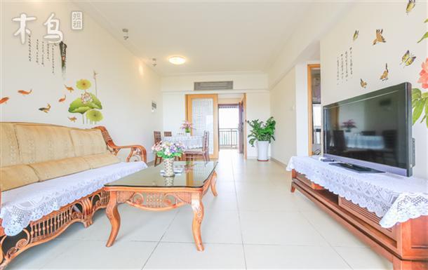 熠海海景公寓高级海景两房一厅