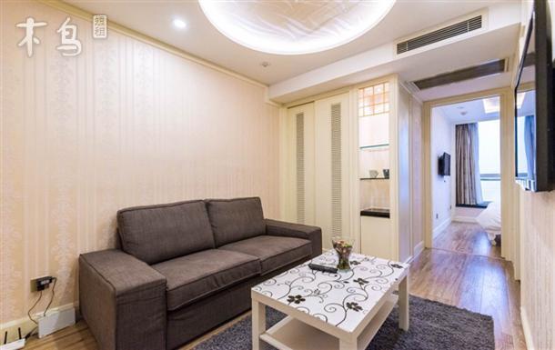 南京西路地铁站附近 一房一厅