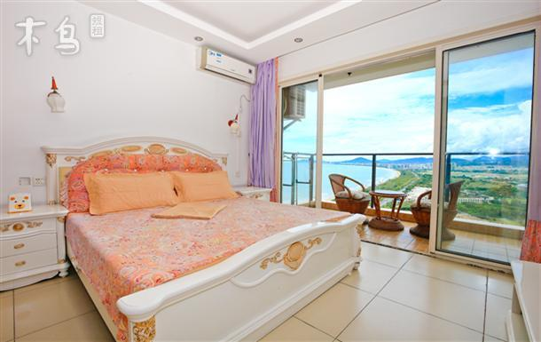 三亚湾椰梦长廊豪华海景家庭房位置极佳高端小区
