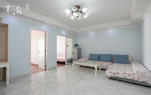 三亚大东海浪漫鱼温馨清晰两房一厅