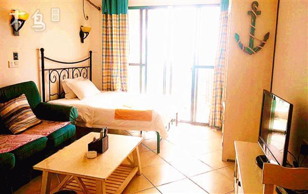 三亚湾/近海/温馨公寓简洁套房
