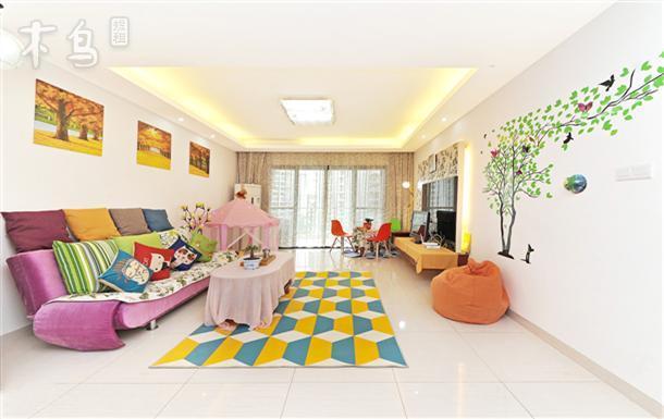 海景双阳台三室一厅四张大床性价比超高