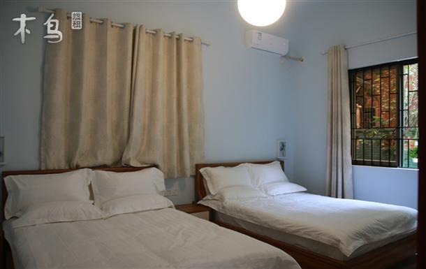 广州南站附近 舒适双床 可住4人