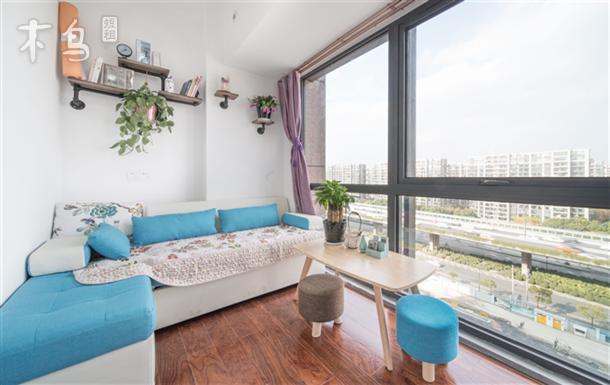 杭州火车东站、彭埠地铁站附近两居室整租