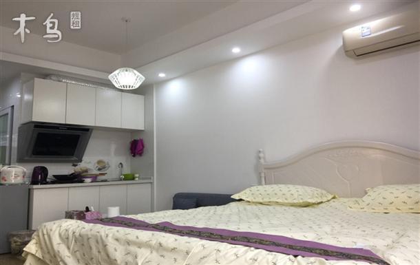 《一七》武昌站地铁4号线D出口阳光大床房