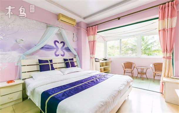 大东海椰海阳台蜜月大床房  有厨房可做饭209