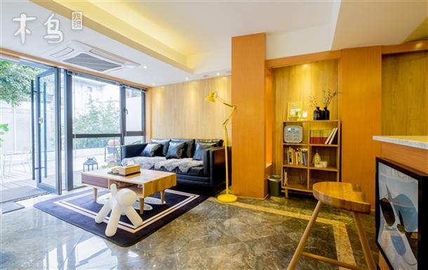 西湖边北欧风一室一厅(可加床)带地暖,适合一家三口度假的公寓型客房