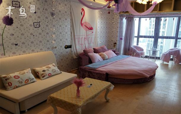 古文化街温馨大床房