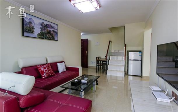 深圳瑞阁商务公寓复式三室一厅