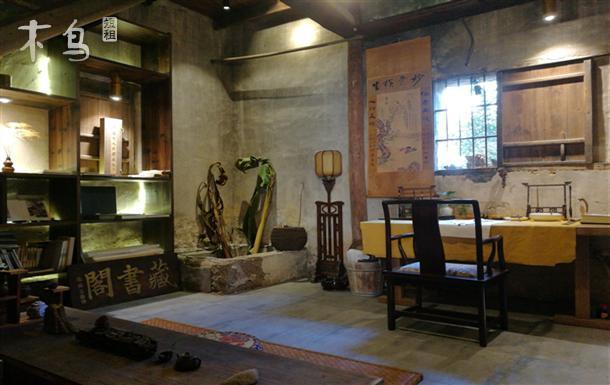 荻浦村清晚期建筑适合一家人居住四居室整租