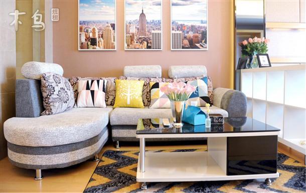 三里屯附近一居室特色主题公寓大床房
