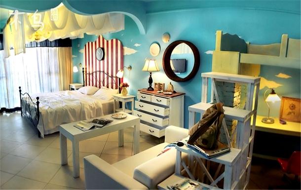 巴洛克的幻想家亲子海景1房