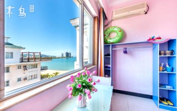 三亚湾四室一厅海景套房,五天接机