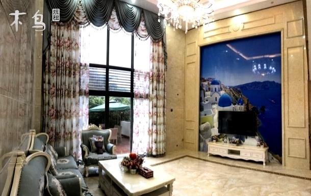 天湖旅游度假区浪漫幸福主题8房14床观景美墅