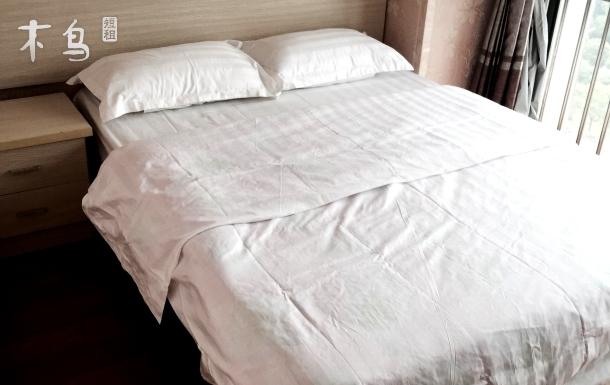 近地铁2号线阳澄湖路站景观双床房