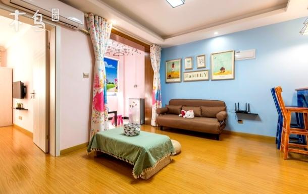 上海迪士尼浦东机场2号线温馨情侣一室一厅