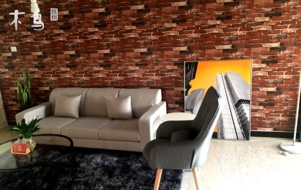 .【最美的时光】近CBD&临地铁口&近高铁站美式精装两居室