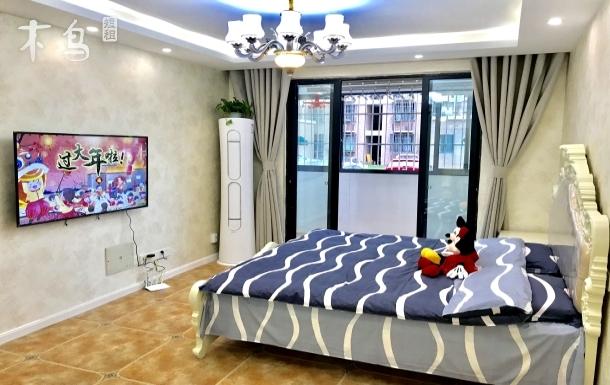 近迪士尼豪装温馨大三房