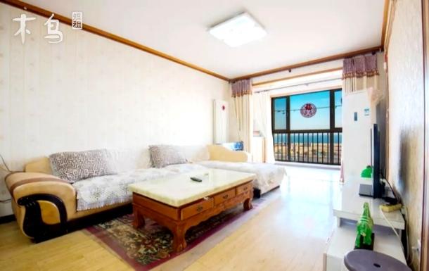 青岛金沙滩强强观海公寓温馨海景一居室