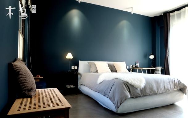 啡影时光共享别墅 圣托里尼主题 北欧简约设计