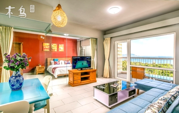 大东海无敌海景一卧室一厅度假套房