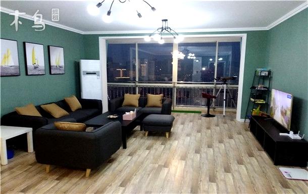 CBD万达广场万象城 地铁3号北欧风情套三公寓