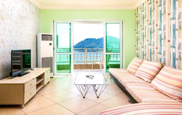 大东海高层海景四卧室一厅大套房