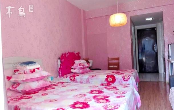 红砂村、幸福梅林旁 浪漫舒适双床大床房