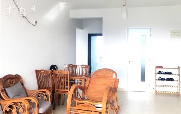 三亚湾海边浴场海景两房
