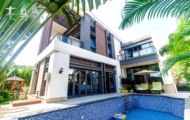 近海独栋4房别墅,可做饭,私家泳池,私人影院,私家花园,豪华装修,接机