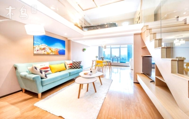 西溪湿地 阿里巴巴 海创园 小资Loft公寓 复式两房